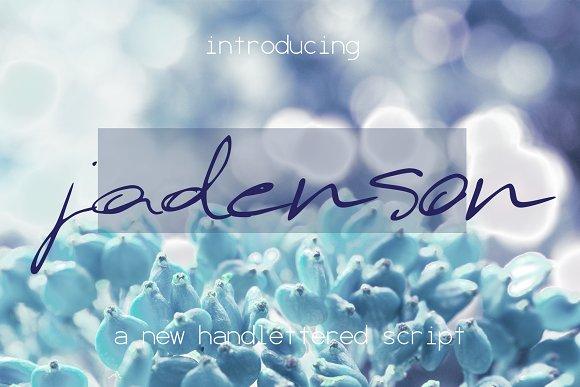 Jadenson Font