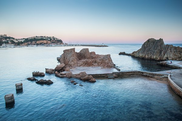 Holiday Stock Photos: Kowostock - Sant Feliu de Guixols bay