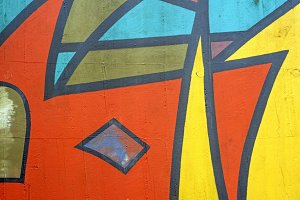 Abstract Wall Paintings