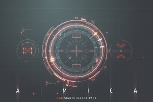 AIMICA: Futuristic HUD Sights pack
