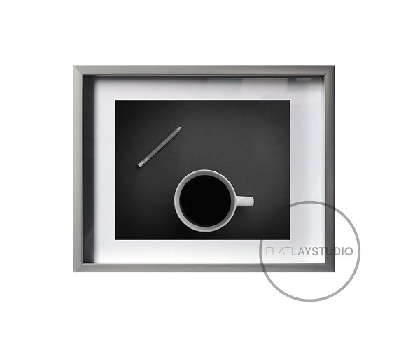 6 TRANSPARENT FRAMES / Smart Objects in Print Mockups - product preview 4