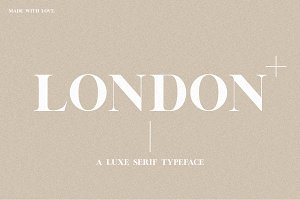 (NEW!) London | A Luxe Serif