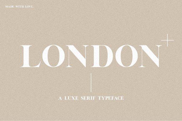 Serif Fonts: Jen Wagner Co - (NEW!) London | A Luxe Serif