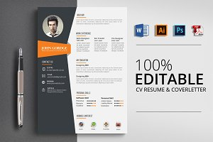 Word CV Resume Template