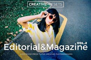 Editorial/Magazine Lightroom Preset