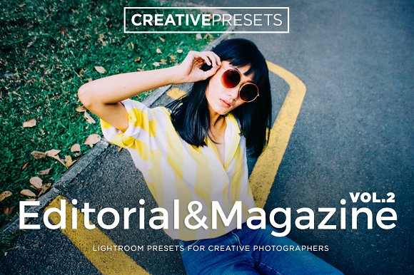 Editorial Magazine Lightroom Preset