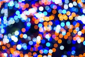 Holiday abstract lights