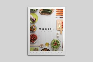 MoDish - A Modern Cookbook Template