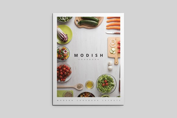 MoDish - A Modern Cookbook Template