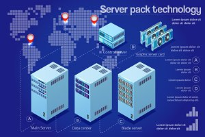 Data center technology server