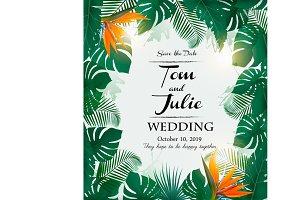 Wedding invitation desing