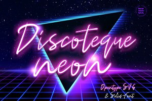 Discoteque Neon Font
