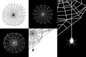 Vector cobweb or spider web