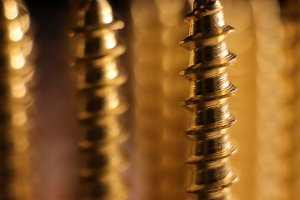 Golden Screws Background