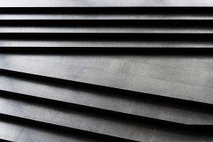 Plain dark granite stairs pattern