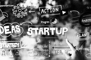 Brainstorming startup ideas together