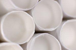 White Cigarette Filters