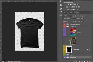 T-Shirt Mock-Ups Front