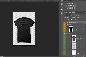 T-Shirt Mockup Back