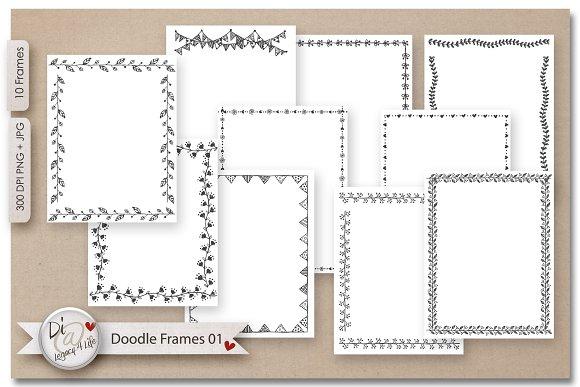 Doodle Frames Page Creators