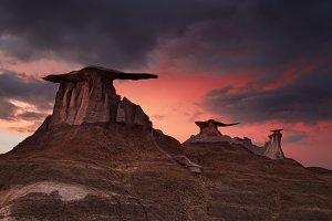 Bisti Badlands, New Mexico, USA