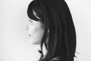 Woman portrait shoot