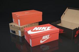 Shoe box Nike 3d 3D model