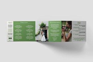 Wedding Planner A5 Brochure Template