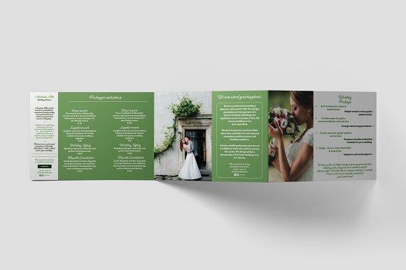Wedding Planner A Brochure Template Brochure Templates Creative - Wedding brochures templates free