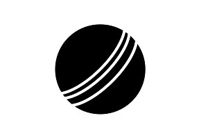 Web icon. Ball, children's ball
