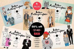 [50%off]Fashion anthros mega bundle