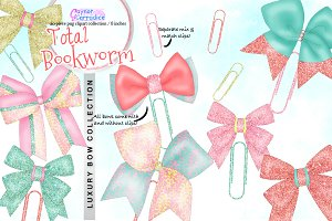 Total Bookworm Bow Collection