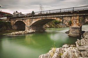 Bridge over Sella river