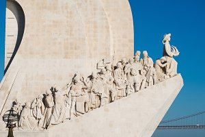 Monument of Discoveries in Lisbon