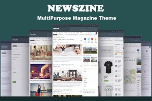 Newszine MultiPurpose Magazine Theme