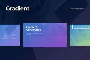 Gradient Keynote Template