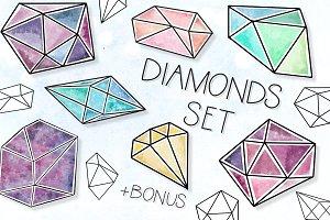 Diamonds set
