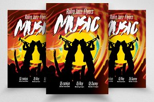 Music Jazz Concert Flyer / Posters