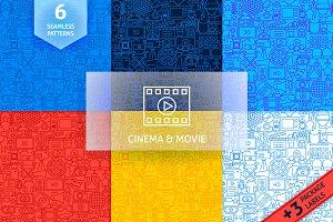 Cinema Line Tile Patterns