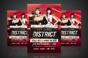 Red Light District - Flyer / Poster