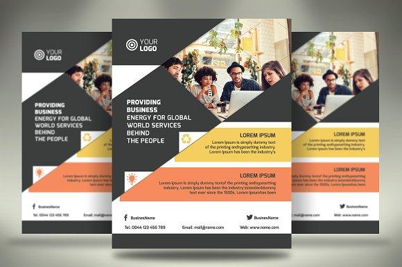 10 multi purpose flyers vol 1 flyer templates creative market