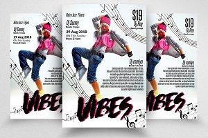 Music Dance Concert Flyer / Poster