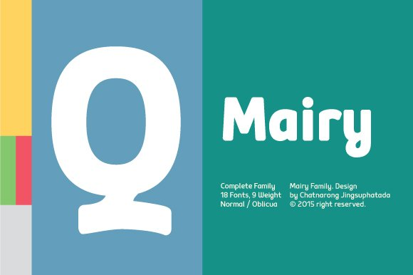 Mairy (Update v1.1) - Sans Serif