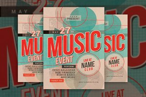 Music Event Vintage Style