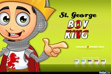 St. George Boy King Character