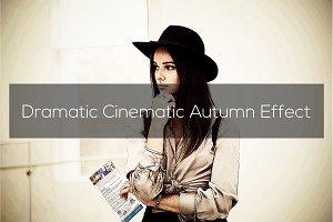 Dramatic Cinematic Autumn Effect