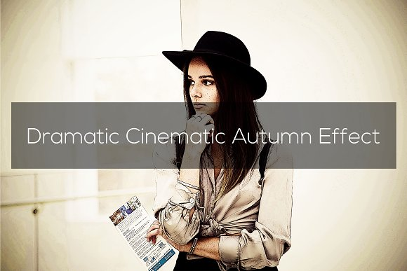 Dramatic Cinematic Autumn Effect