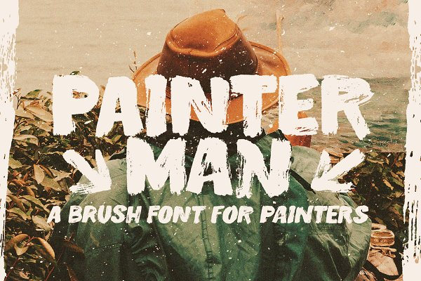 Fonts: Types and Boats - Painterman Brush Font