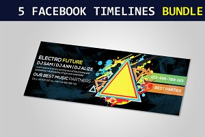 5 Corporate Facebook Timeline Covers