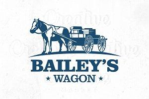 Bailey's Wagon Logo Templete